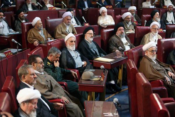 افتتاحیه دوره پنجم مجلس خبرگان رهبری/ تصاویر ۱
